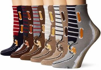 Sperry Women's 6 Pack Low Show Tube Socks