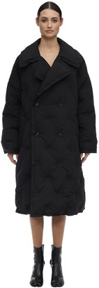 Maison Margiela Long Tonic Quilted Nylon Down Coat