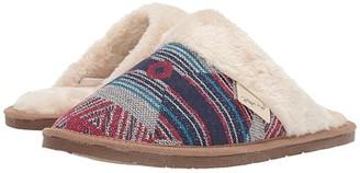 M&F Western Arianna Slip on Slide Slipper (Blue/Red/Multi) Women's Shoes