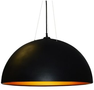 Dainolite 3 Bulb Dome Pendant Light