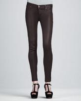 Hudson Krista Stout Waxed Super Skinny Jeans