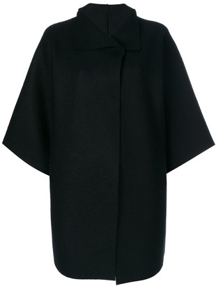 Harris Wharf London Oversized Cape Jacket