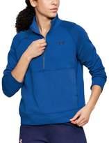 Under Armour Women's French Terry Half-Zip Jacket