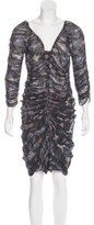 Isabel Marant Silk Ruched Dress
