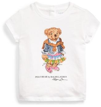 Ralph Lauren Madras Bear Cotton Tee