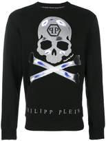 Philipp Plein Tattoo skull jumper