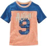 Osh Kosh Knit Tee (Toddler/Kid) - Orange - 4T