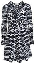 Saint Laurent Polka Dots Dress