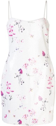 LIKELY Reese floral mini dress