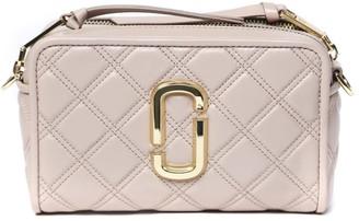 Marc Jacobs Powder Pink The Softshot 21 Leather Crossbody Bag