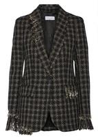 Sonia Rykiel Embellished metallic tweed blazer