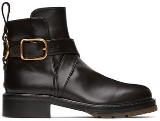 Chloé Black Diane Boots