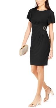 Jessica Howard Side-Buckle Sheath Dress
