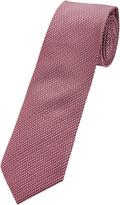 Oxford Silk Tie Dk.pk