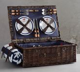 Pottery Barn Nautical Picnic Basket