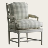 The Well Appointed House Swedish Gustavian Gripsholm Upholstered Chair-Available in a Variety of Finishes
