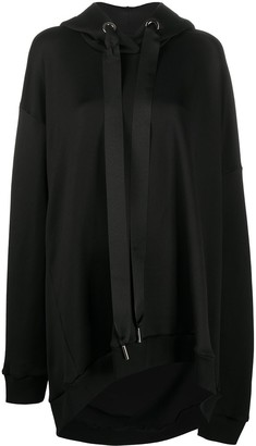 Marques Almeida Oversized Jersey Hoodie