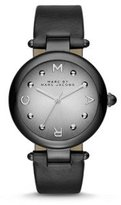 Marc by Marc Jacobs Marc Jacobs Women's Dotty Black Leather Watch - MJ1410