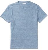 Richard James Slim-fit Mélange Cotton-jersey T-shirt