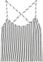 Kain Label Saffron striped twill camisole