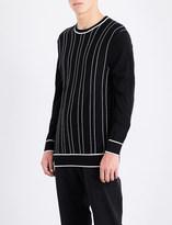 Joseph Striped merino wool jumper