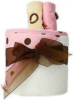 Trend Lab Hooded Towel Gift Cake, Maya Dot by