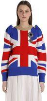 Gucci Union Jack Intarsia Wool Sweater