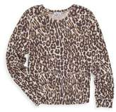 Splendid Girl's Leopard Sweater