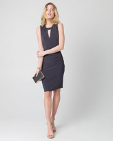 Le Château Knit Scoop Neck Shift Dress