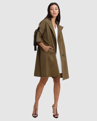 Belle & Bloom Russian Romance Oversized Trench Coat