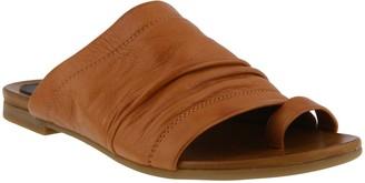 Spring Step Leather Slide Sandals - Ishtar