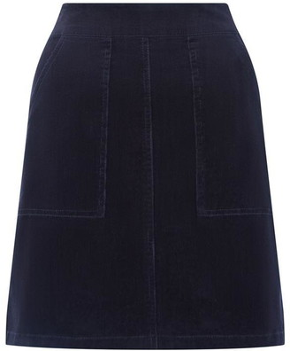 Warehouse Cord Patch Pocket Mini Skirt