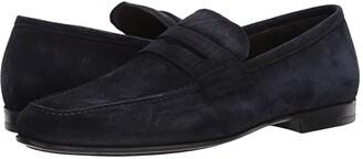 To Boot Corbin (Grey Suede) Men's Slip on Shoes
