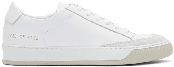 Common Projects Woman by White Tennis Pro Sneakers