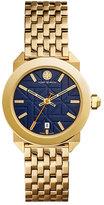 Tory Burch Whitney Golden Bracelet Strap Watch, Navy