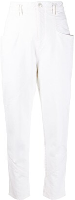 Isabel Marant High Rise Straight-Leg Jeans
