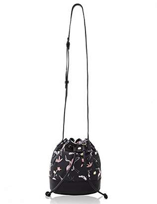 The Lovely Tote Co. Women's Cranes Print Crossbody