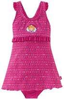 Schiesser Girl's Aqua Prinzessin Lillifee Badeanzug Swimsuits