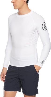 Volcom Men's Lido Solid Long Sleeve Rashguard Shirt