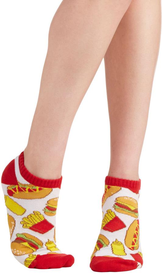 Let's Ketchup Soon Socks