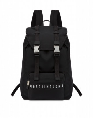 Moschino Nylon Backpack Uomo