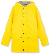 womens yellow raincoat hooded - ShopStyle