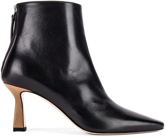 Wandler Lina Boots in Black & Khaki | FWRD