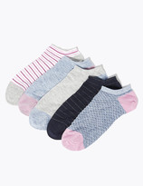 Marks and Spencer 5 Pack Sumptuously Soft Trainer Liners