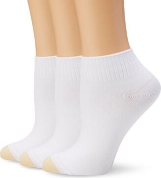 Gold Toe Women's Ultra Soft French Quarter Sock 3-Pack