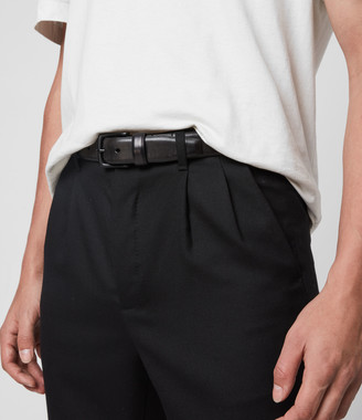 AllSaints Hendley Leather Belt