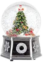 Spode Christmas Tree Snow Musical Globe