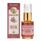 Badger Face Oil, Damascus Rose