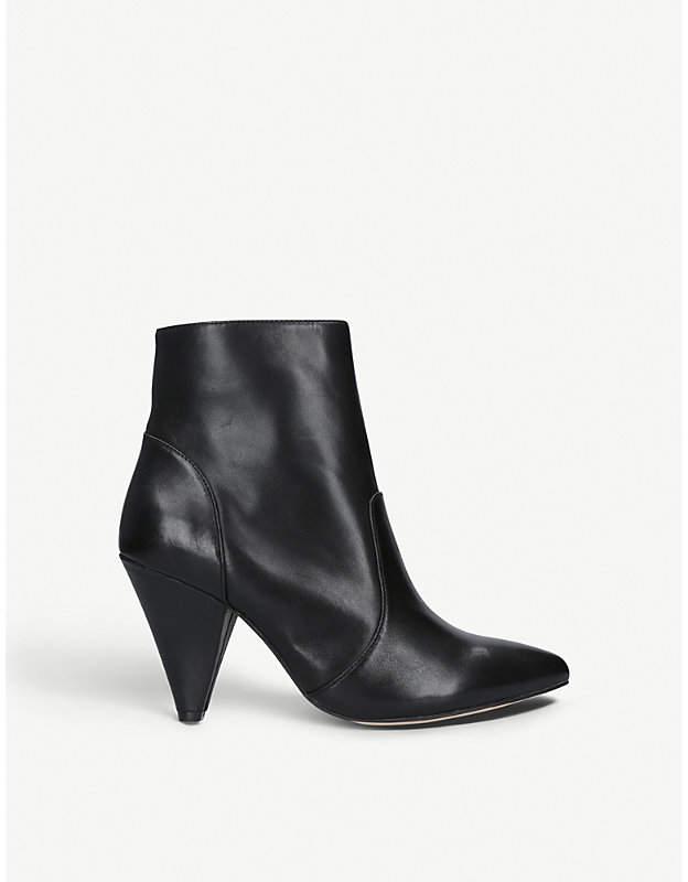 Kurt Geiger London Violetta leather ankle boots