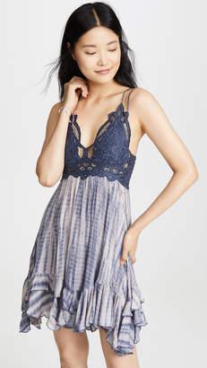 Free People Adella Tie Dye Slip Dress
